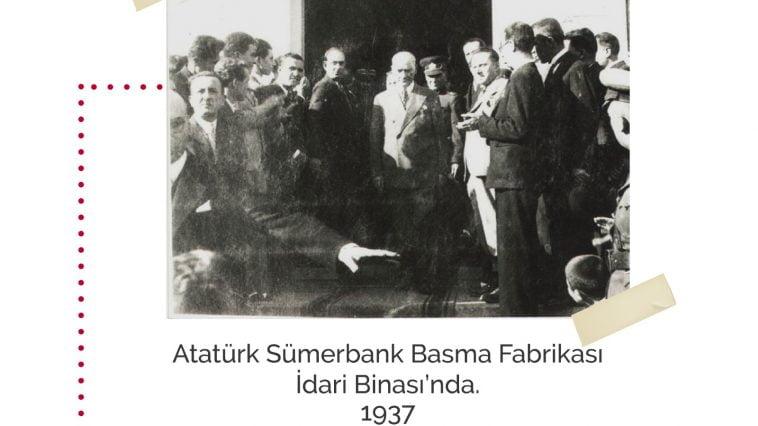 Eski Aydın Fotoğrafları ataturk sumerbank basma fabrikasi
