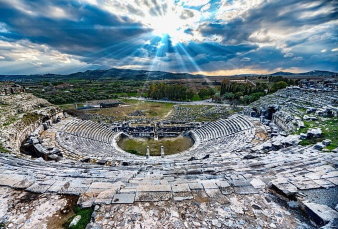 Milet Antik Kendi - Didim milet andik kenti miletos aydin didim