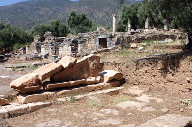 Nysa Antik Kenti Sultanhisar Aydın aydinda gezilecek yerler nysa