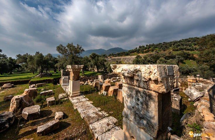 Nysa Antik Kenti Sultanhisar Aydın nysa antik kenti