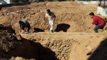 Aydın'da inşaat kazısı çalışmalarında 1600 yıllık sur duvarı bulundu 20200820 2 43976576 57547534 Web