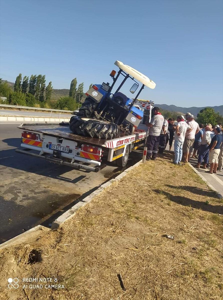 Aydın'da traktör ile otomobil çarpıştı 20200823 2 44008932 57598004 Web