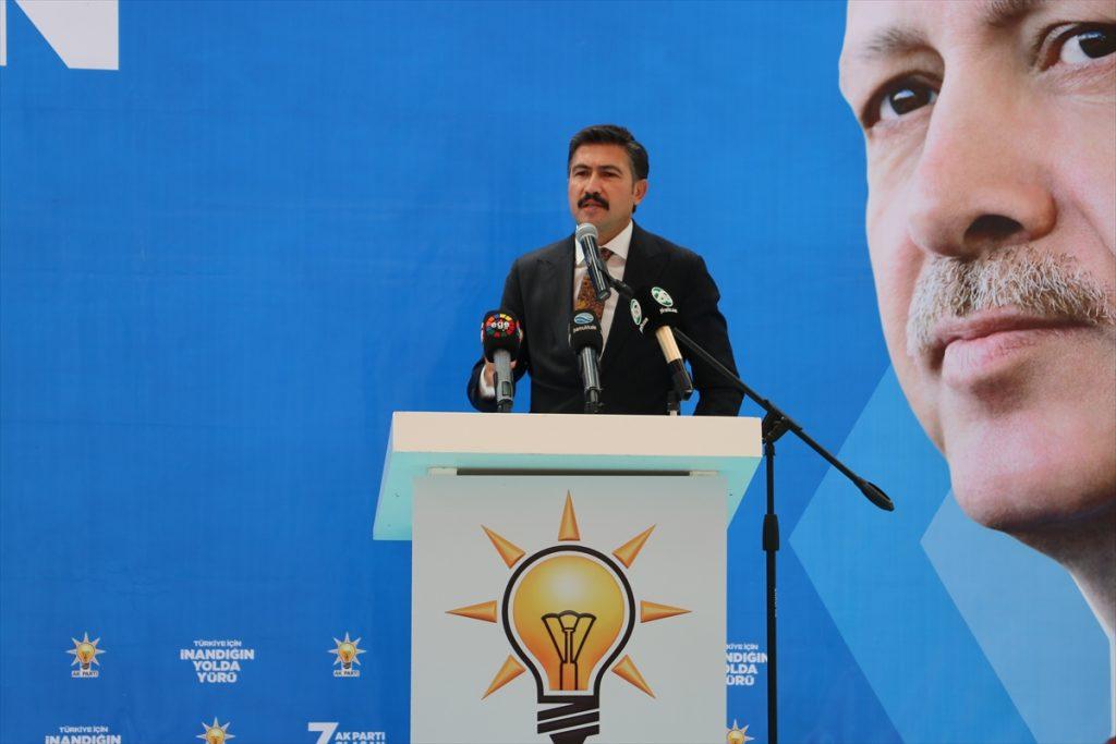 """AK Parti'li Özkan: """"18 yıla sığdırdığımız hizmetler yüz yılda yapılamayacak hizmetlerdi"""" 18 yilda yaptiklarimiz 100 yilda yapilamaz 1"""