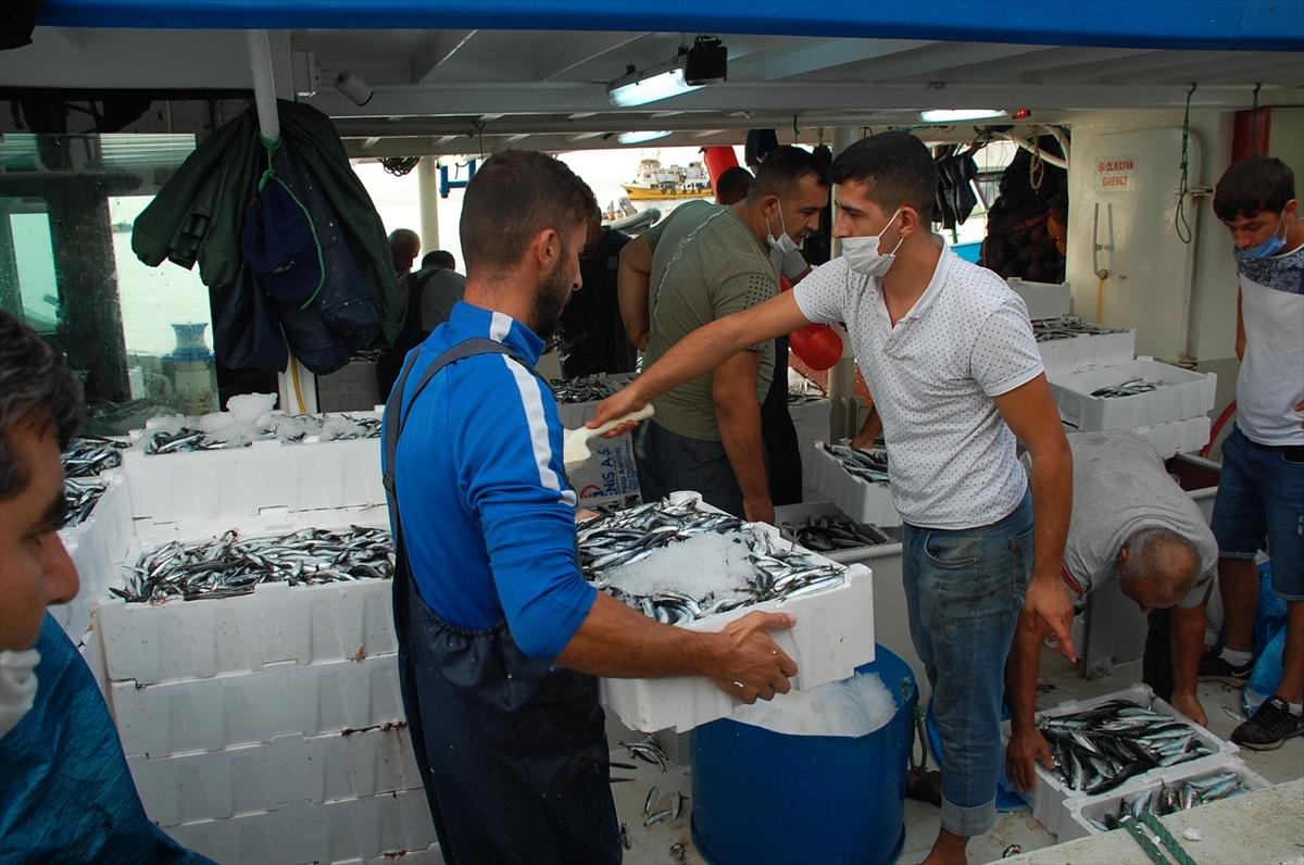 Didim'de balıkçılar iskeleye tekneleri dolu döndü 20200929 2 44583702 58499187 Web