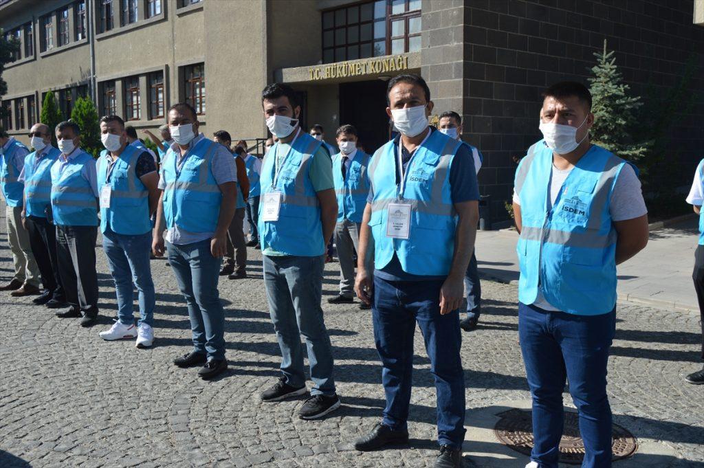 Konya, Aksaray, Karaman ve Afyonkarahisar'da Kovid-19 tedbirleri denetimi yapıldı konya da okullarda kovid 19 denetimi 1
