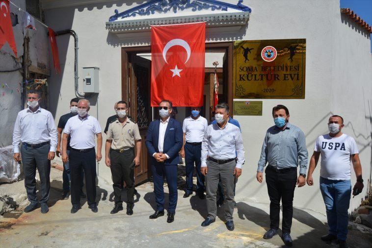 Soma'da kültür evi açıldı soma da kultur evi acildi 6