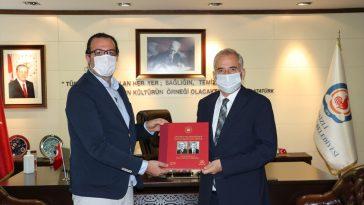 AA İzmir Bölge Müdürü Baysal'dan Vali Atik ve Büyükşehir Belediye Başkanı Zolan'a ziyaret vali atik ve baskan zolan a ziyaret