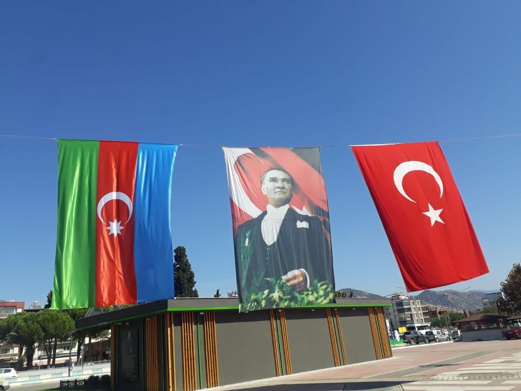 Germencik Belediye Başkanı Öndeş'ten Azerbaycan'a destek AW130326 03