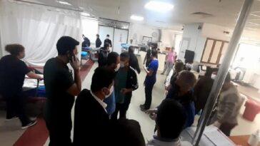 ADÜ Rektörü Aldemir, kaza geçiren doktorları hastanede ziyaret etti adu rektoru aldemir kaza geciren doktorlari hastanede ziyaret etti DHqECiNY