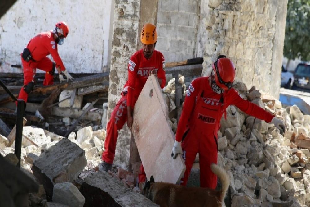 AKUT Kuşadası TARİŞ Alanı'nda tatbikat yaptı akut kusadasi taris alaninda tatbikat yapti 7rjMvuYs