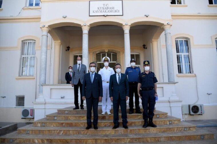 Aydın Valisi Hüseyin Aksoy Kuşadası'nda aydin valisi huseyin aksoy kusadasinda vK5BkBrs
