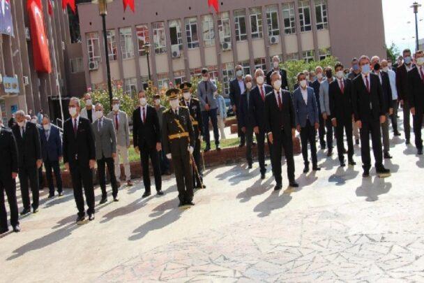 Aydın'da 29 Ekim kutlamaları çelenk koyma töreni başladı aydinda 29 ekim kutlamalari celenk koyma toreni basladi dQPhgS7W