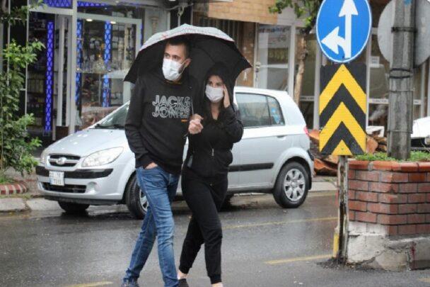 Aydın'da beklenen yağış başladı aydinda beklenen yagis basladi EO56eLKE