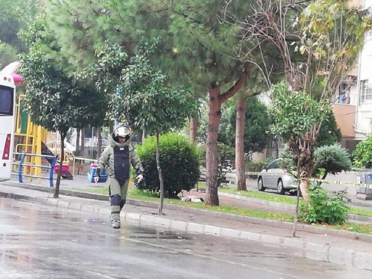 Aydın'da şüpheli bohça paniği aydinda supheli bohca panigi 1A33t3Jk