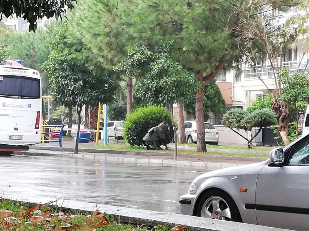 Aydın'da şüpheli bohça paniği aydinda supheli bohca panigi 3 QbzaNj1S