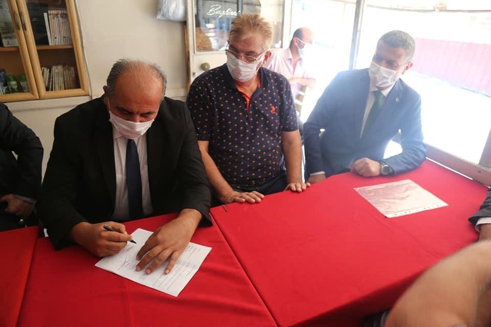 Boyabat Tarihi (Orta) Çarşı Restorasyonu için imzalar atıldı boyabat tarihi orta carsi restorasyonu icin imzalar atildi 3