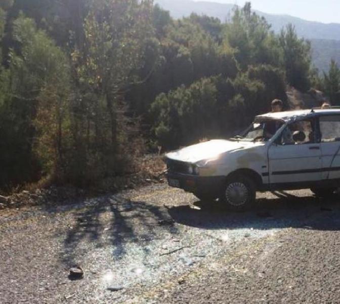 Çine'de trafik kazası: 2 yaralı cinede trafik kazasi 2 yarali LJ8PqHdW