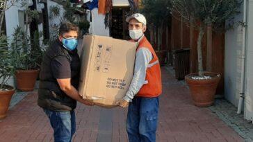 Kuşadası Belediyesi'nden İzmir'e gıda yardımı kusadasi belediyesinden izmire gida yardimi tbBPXmgF