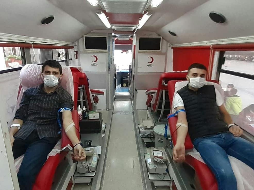 Aydın Ülkü Ocakları'ndan kan bağışı aydin ulku ocaklarindan kan bagisi 1