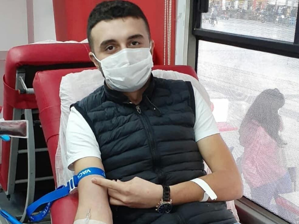 Aydın Ülkü Ocakları'ndan kan bağışı aydin ulku ocaklarindan kan bagisi 2 dNhS5Rwf