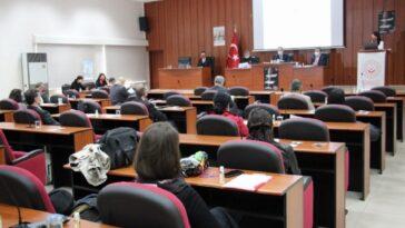 Aydın'da Kadına Yönelik Şiddetle Mücadele toplantısı yapıldı aydinda kadina yonelik siddetle mucadele toplantisi yapildi krTynHHk