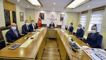 Başkan Günel, Kültür ve Turizm Bakanı Ersoy'u ziyaret etti baskan gunel kultur ve turizm bakani ersoyu ziyaret etti dIdsdYDj