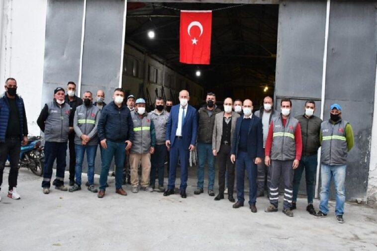 Başkan Tuncel, mezarlıklar personeline teşekkür etti baskan tuncel mezarliklar personeline tesekkur etti sJNUq9sJ