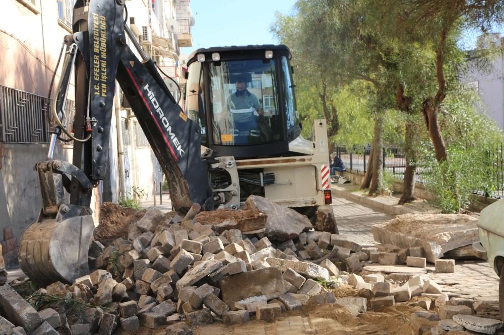 Efeler Belediyesi Hasanefendi Mahallesi'nde yol çalışmalarına başladı efeler belediyesi hasanefendi mahallesinde yol calismalarina basladi 2 mqGk1MEE
