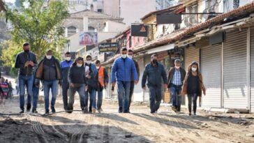 Kuşadası'nın turistik çarşıları yenileniyor kusadasinin turistik carsilari yenileniyor FmRmnme9