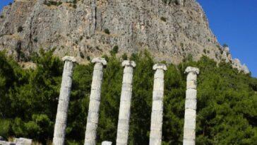 M.Ö. 4.yüzyılda kurulan ilk planlı şehir, Priene mo 4yuzyilda kurulan ilk planli sehir priene F3PC1pv1
