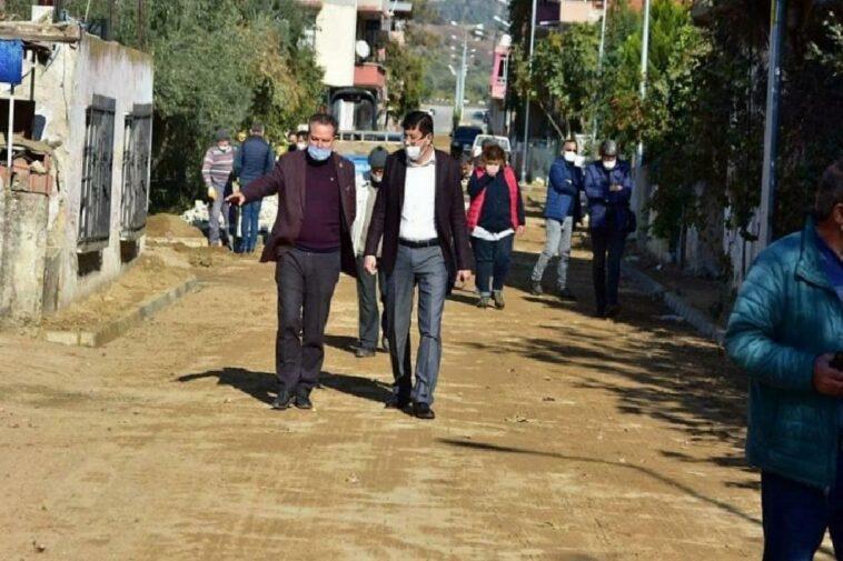 Nazilli Yeşil Mahalle'de yol çalışmaları devam ediyor nazilli yesil mahallede yol calismalari devam ediyor q5nEaFT4
