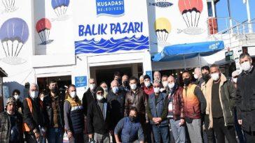 Başkan Günel, balık pazarı esnafıyla bir araya geldi baskan gunel balik pazari esnafiyla bir araya geldi UpReXPTW