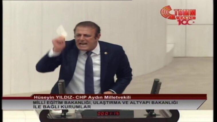 CHP Aydın Milletvekili Hüseyin Yıldız'dan Tarihi Konuşma
