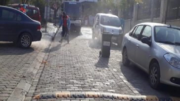 Kuşadası Belediyesi'nden Davutlar'da temizlik seferberliği kusadasi belediyesinden davutlarda temizlik seferberligi z1jhvFqR